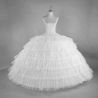 6 Hoops avec disque épais Tulle Petticoat Crinoline Jupon Feuillets pour robe de mariée Quinceanera robe de bal Jupon Tarlatane