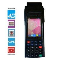 Сканеры Ручной клеммный принтер Reader Wirless Portable 1D 2D лазерный штрих-код сканер Android мобильных данных коллектор PDA RFID Bluetooth