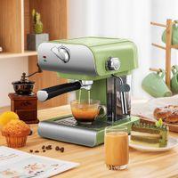 Itop máquina de café expresso automático 220 V 800ml cappuccino latte leite espuma italiana cafeteira 20 bar operação simples