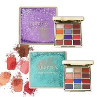 Eyes Makeup 12 Colors Eye Shadow Kit Eye shadow Charming Eyeshadow Pigment Palette Diamond Glitter Metallic Cosmetic#