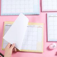 Kawaii Gündemi 2020 2021 A4 Aylık Planlayıcısı A5 Haftalık Planı 365 Gün Dizüstü Okul Ofis Malzemeleri Dergisi Kırtasiye 54 Yaprak