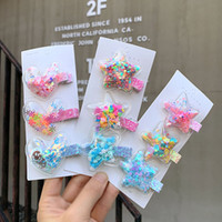 2020 New Sequin Quicksand Princess Hairpin Girls Children Ki...
