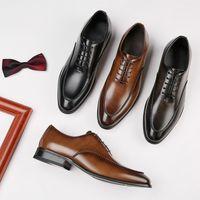 2020 Neue Fabrik Direktvertrieb New Four Seasons British Style Schuhe Mens-Geschäfts-formale Schuhe Büro Gentlemens Schuhe