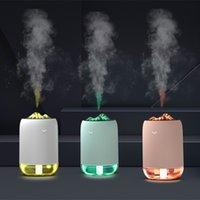 2020 neue Ankunfts-USB Ultraschall-Diffuser Luftbefeuchter mit LED-Leuchten für Arbeit Büro Hotel Schlafzimmer Auto mit Kleinkasten