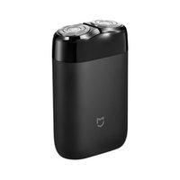 Para hombre de acero recargable Nuevo 2020 Mijia máquina de afeitar eléctrica 2 Cabeza flotante impermeable portable del USB navaja de afeitar