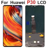 Paneles OLED de 6.1 pulgadas para Huawei P30 LCD Pantalla táctil Montaje digitalizador Ele-L29 ELE-L09 Piezas de reparación de reemplazo ELE-AL00