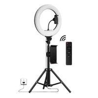 Clignote de la vente au détail 32cm LED Bague Bague avec trépied 1.7m pour le flux en direct, vidéo YouTube, Selfie Beauty Selfie, Éclairage Studio, etc.