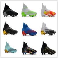 No Laces المفترس المتحفون 20 FG Soccer أحذية عالية أعلى كرة القدم المرابط كرة القدم الرياضة 2020 الرجال التدريب أحذية رياضية أفضل kingcaps