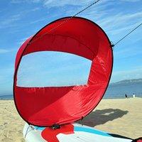 Verão Surfing Wind Paddle Dobrável Kayak Barco Sail Sail Kayaks Sails Durável Downwind Paddles Rowing Boats Winds Window