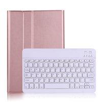 المغناطيس بو الجلود حالة لسامسونج غالاكسي تاب S7 T870 T875 TAB A7 10.4 T500 T505 غطاء لوحة المفاتيح + القلم