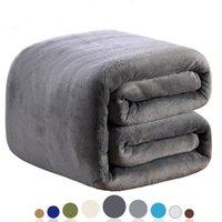 Neue Art und Weise Super Fest Warm Microplush Plüsch Fleece Blanket Teppich Sofa Bedding-Vorleger Sofa Bettwäsche
