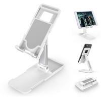Support pliable pour téléphone de bureau Angle Hauteur réglable Téléphone Support de bureau Support de support pour iPhone 12 11 Pro Xr Xs Max iPad Kindle