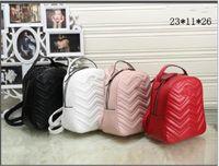 جديد Arrvials المرأة جلدية الظهر Cowskin Bagpack من امرأة السيدات حقيبة السفر حقيبة الظهر حقائب جلدية حفاضات
