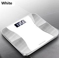Состав Freeshipping Body Analyzer с Smartphone App Bluetooth Body Fat Scale Смарт Точная беспроводной цифровой ванной Вес Масштаб