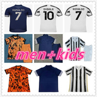 juventus jersey mens designer t shirts 2020 new designers t shirts mens designers clothes kids football kits 20 21 Juventus kids soccer jersey football jerseys