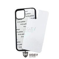 TPU + PC Em branco 2D Sublimation Case Hard Plastic Transfer Transfer Case Phone Case com inserções de alumínio para iPhone 12 Pro Max 11 Samsung S21 Noey