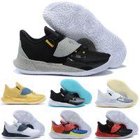 New Low 3 Sashiko Homens Sapato De Basquete Venda 2020 Melhor Irving 3 Homens Sneakers Store Entrega Gratuita US7-US12