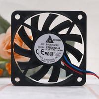Fans Kühlungen 2-Pin oder 3-pin für Delta EFB0612HA 6010 DC 12V 0.18A 6 cm 60mm Computer PC Case CPU Server Inverter Kühlung Axialgebläse
