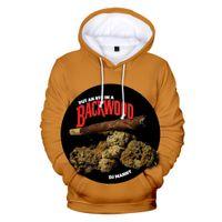 Backwoods Bal Berry 3D Baskı Büyük Boy Erkekler Hoodies Sweatshirt Streetwear Hip Hop Kazak Komik Kapşonlu Ceket Erkek Eşofman