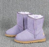 الأسترالي WGG5821 الاطفال صبي فتاة الأطفال الطفل دافئة أحذية الثلوج الأحداث الثلوج في فصل الشتاء طالب التمهيد بيلي 2 الانحناء