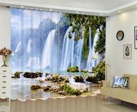 Cortinas cortinas babson paisaje 3d impresión digital diy avanzado personalizado PO