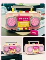 LOZ Netter rosa Recorder Building Blocks Modell, Mini DIY bauen zusammen pädagogisches Spielzeug, Ornament für Weihnachten Kid Geburtstags-Mädchen-Geschenk, Collect 1120, 3-2