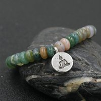 Buddhist texts Beads Bracelet Men Meditation Buddha Bracelet For Women Men Natural Stone Bracelets Beads Charm Jewelry Gift