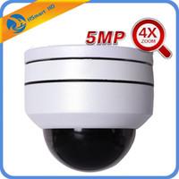 CCTV Security AHD 5MP MINI Speed Dome PTZ Camera 4x Zoom 2.8-12mm 4 LED IR 30M AHD TVI CVI HD Cameras