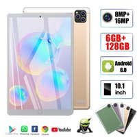 2020 Nuovo originale 10.1 pollici Octa Core Core PC Android 9.0 Google Play 4G Chiamata telefonata Wifi Bluetooth GPS 6G + 128 GB Tablet
