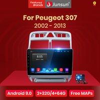 Junsun V1 2G + 32G Android 9,0 для 307 2002 - 2008 - 2013 Автомобиль Радио Мультимедиа Видео плеер GPS-навигация 2 дин DVD автомобиля DVD