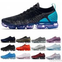 Vapormax max Flyknit Utility 2020 zapatos de punto Flagship MenWomen Triple Blanco Negro Gris Knitting formadores de moda zapatillas de deporte lu