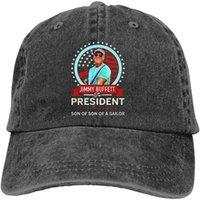 Jimmy Buffefor Presidente 2020 Filho de filho de um marinheiro Unisex Cowboy Vintage Hat ajustável Casquette Baseball Cap Preto
