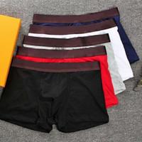 clásico boxeador cortocircuitos ocasionales de la ropa interior transpirable interior de algodón boxeadores masculina ropa interior masculina ropa interior sexy