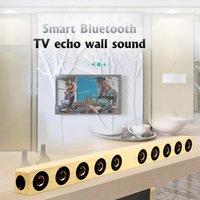 Soundbar Wireless Tear TV Bluetooth-динамик 40W Встроенные сабвуферы HiFi стереофонская колонна окружающая среда с дистанционным управлением