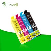 Cartuccia d'inchiostro ECOWEL 4PCS T603XL 603xl con chip Compatibile per XP-2100 XP-3100 WF-2810DWF WF-2835DWF WF-2850DWF Stampante