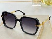 Nuevo diseño de moda 2006 Gafas de sol Lente cuadrada Sin marco con máscara de ojos Diseño Simple estilo de calidad superior UV 400 gafas protectoras