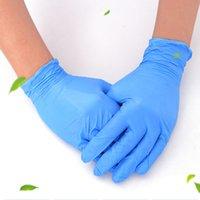 Food Grade El Guard Ev Mutfak temizlik ve su geçirmez EEA2036 ile Depo Fabrika Toptan Tek Nitril Eldiven