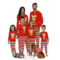 Novo homem de disco único impresso pijama combinando família pijama de natal meninos meninas sleepwear crianças pijamas pais sleepwear casais pijamas