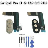 아이 패드 프로 (11) 12.9 인치 2018 3 세대 교체 부분을 위해 플렉스 케이블 리본 포트 커넥터와 1PCS 원래 스마트 키보드 키패드