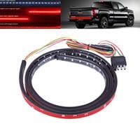 48 بوصة 60 بوصة العالمي الباب الخلفي LED قطاع بار عكسي ضوء الفرامل السيارات تشغيل المؤشر شاحنة بيك أب LED الباب الخلفي ضوء بار