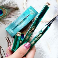 Peacock eyeliner liquid quick-drying, waterproof and sweat-proof, long-lasting, no smudging, no makeup, beginners makeup