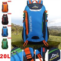 20L Outdoor Sports Mountaineering Backpack Camping Hiking Tr...