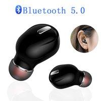 الضوضاء البسيطة X9 اللاسلكية الحد في الأذن تصميم بلوتوث 5.0 سماعة مريحة لارتداء 3D الصوت لهواوي LG