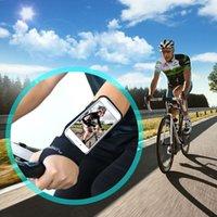 Koşu Spor Telefon Kılıfları Kol Bandı Iphone 11 Pro Max X XR 6 7 8 Artı Samsung Not 10 S10 S9 P30 Spor Kol Bankası Çanta