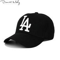 Neue Mode La Baseball Capsembroidery Hip Hop Bone Snapback Hüte Für Männer Frauen Einstellbare Gorras Unisex Cap Wholesale
