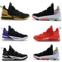 2020 nuevos Mens-lebron 18 zapatos de baloncesto XVI James 18s Juvenil La King All Stars Watch The Throne Martin Lakers Negro Igualdad Sport zapatillas de deporte