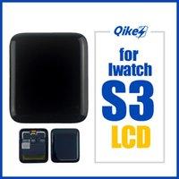 Original Tela LCD 42 milímetros 38 milímetros Para Apple Watch 3 Series3 LCD Assembléia digitador para iWatch 3 Série 3 GPS celulares LCDs