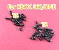 Güvenlik Değiştirme T6 T8 Vidalar Xbox 360 BİR xbox360 xboxone vida Kontrolörler için ayarla