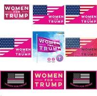 Trump Flags Wahl Frauen für Trump 3x5 Feet 100D Polyester 150x90cm Banner für Präsidentschaftswahl Flaggen DHL HHF1663