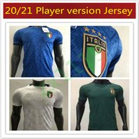 2020 2021 maillot de foot Italie Accueil Player version Hommes loin BARELLA SENSI INSIGNE 20 21 Renaissance CHIELLINI chemises de football Belotti